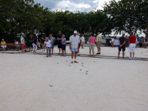 The Petanque compitition EABC
